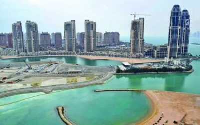 Qatar Construction Increases  with Permit Issuance Up