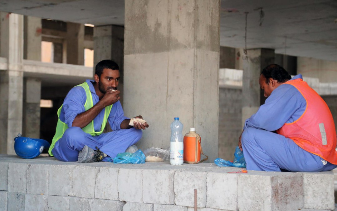 Migrant workers in Qatar facing discrimination