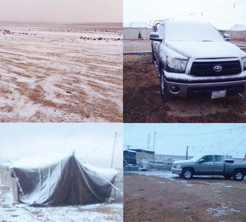 Kuwait got year of rain in one night