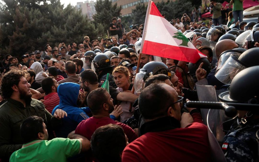 "UN official blames politicians for Lebanon ""chaos"""