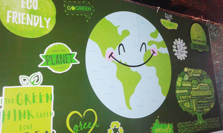 Green economy saving the day