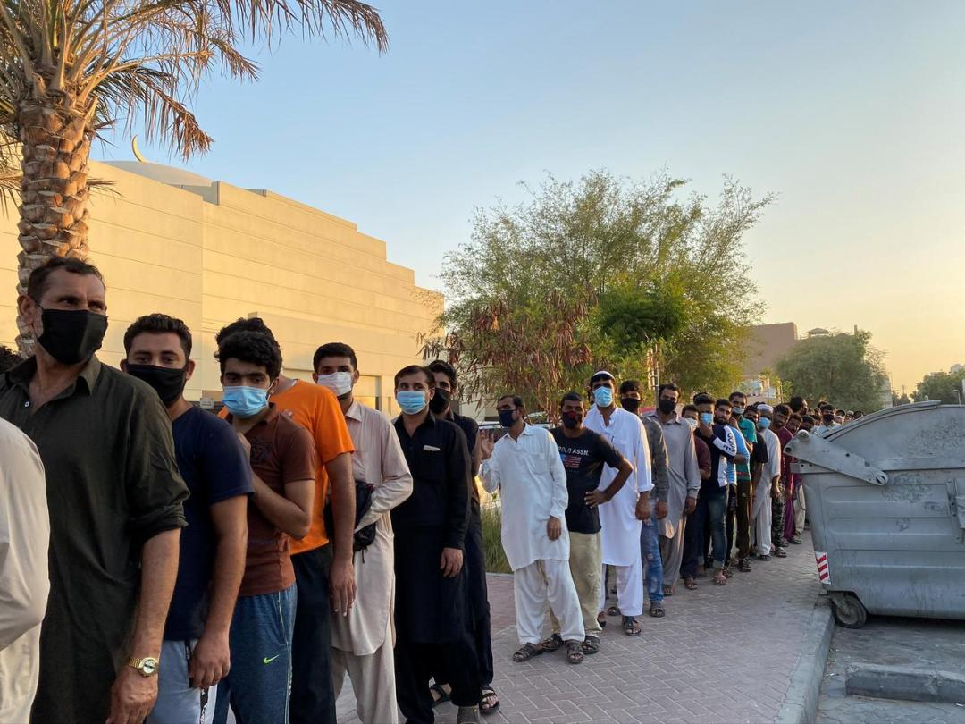 UAE's migrant workers fret over future