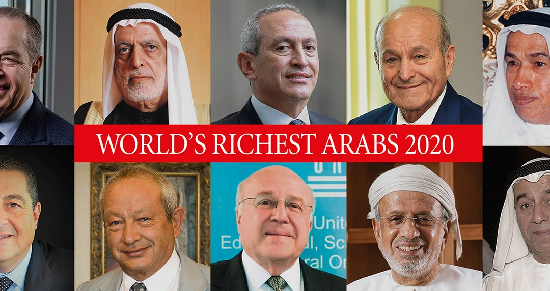 MENA billionaires' wealth increased