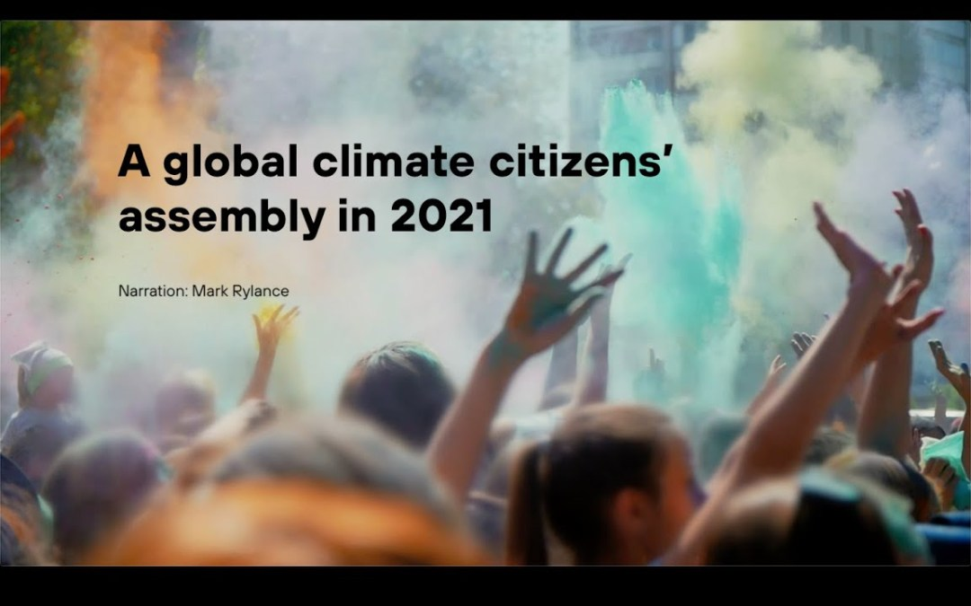 Citizens from around the World to form a Climate Forum