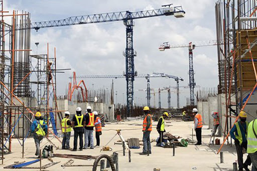 MEA construction activity flat; infrastructure on recovery path