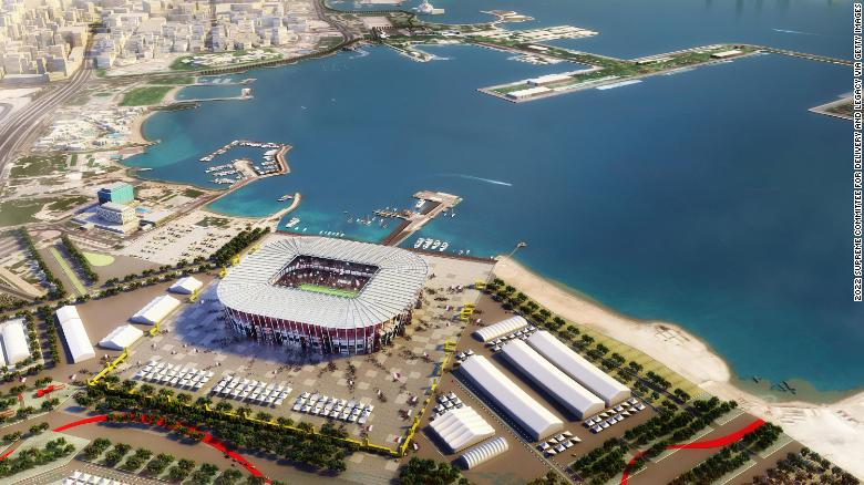 A stadium that is the first built in World Cup history meant to be torn down