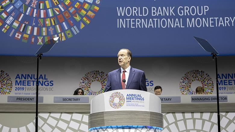 Remarks by World Bank Group President David Malpass