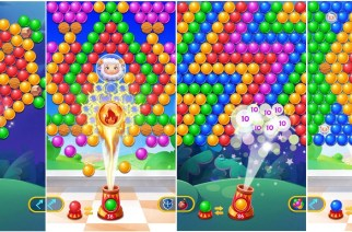 Have Lots of Fun with New Bubble Shooter Game: Bubble Games