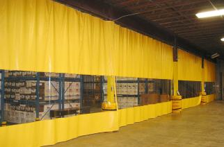 Some Great Advantages of Using Industrial Curtains in Warehouses