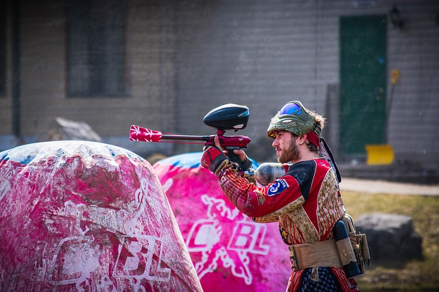 Paintball Is A Great Team Building Activity