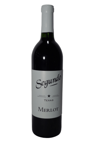 Segundo Texas Merlot- Dry Red Wine