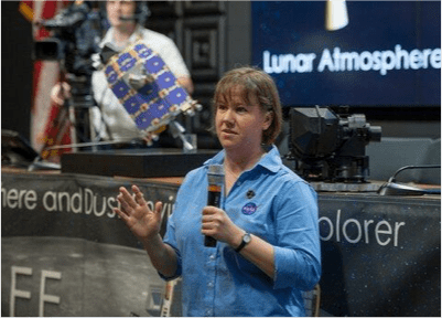 Doing a Q&A just before the LADEE launch.
