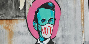 The Velvet Bandit's Abe Lincoln
