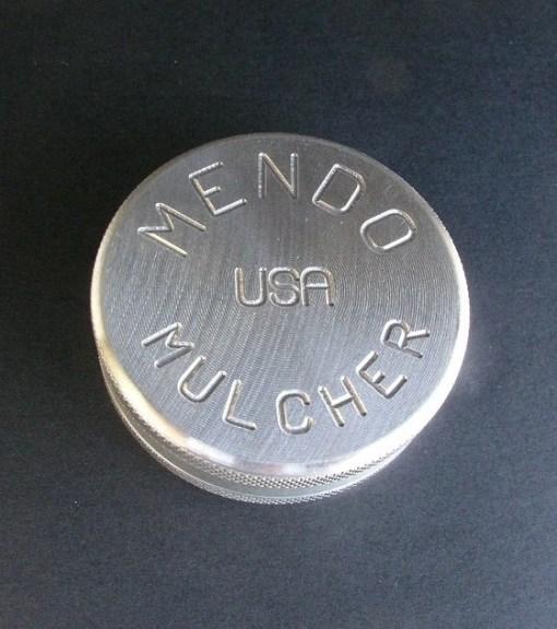 """Mendo Mulcher 2.25"""" (inch) 2-Piece Screenless Herb Grinder"""