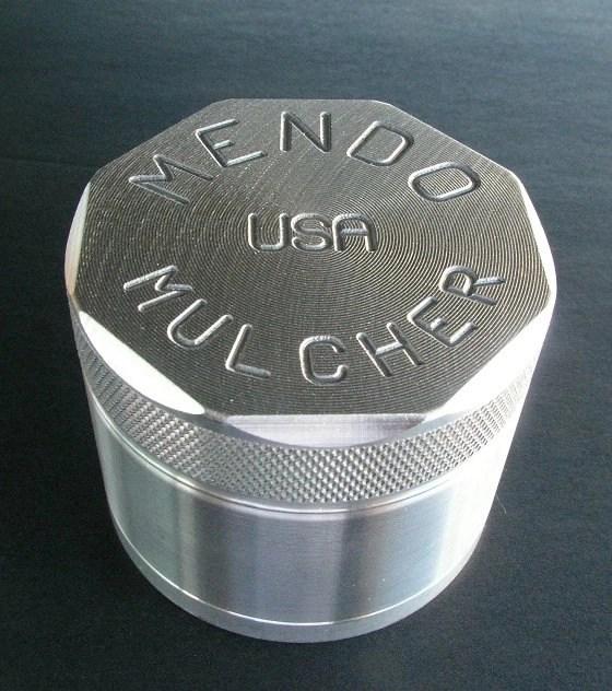 "Mendo Mulcher 2.25"" (inch) 4-Piece Screened Grinder"