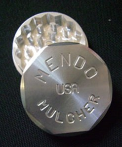 "Mendo Mulcher 2.25"" (inch) 2-Piece Screenless Herb Grinder"