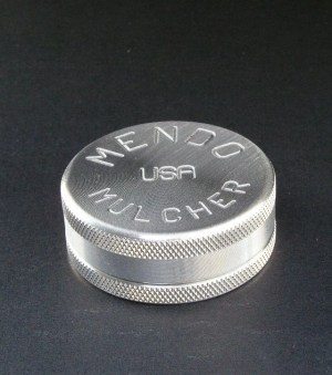 """Mendo Mulcher 2"""" (inch) 2-Piece Screenless Grinder"""