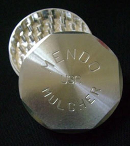 """Mendo Mulcher 3"""" (inch) 2-Piece Screenless Grinder"""