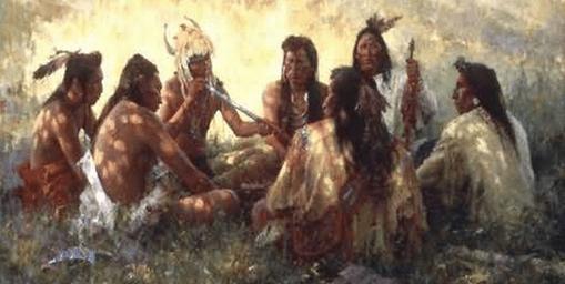 Honorary member native american tribe