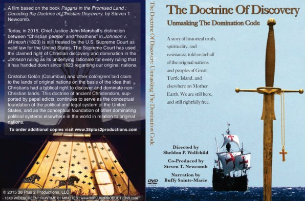 doctrine of discovery unmasking the domination code