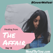 Healing From The Affair