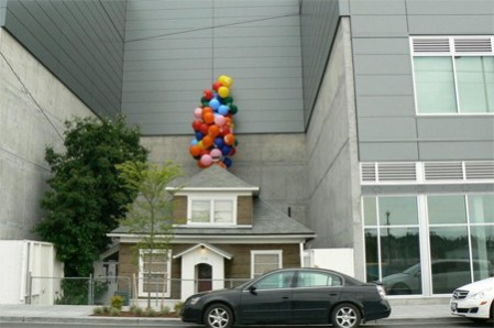 """House that looks like the one in """"Up"""""""