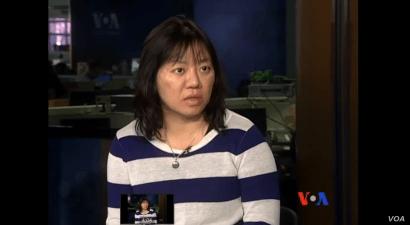 """Vietnamese journalist and blogger Pham Doan Trang was awarded a 2019 Press Freedom Prize for Impact, Sept. 12, 2019, in Berlin. """"I hope this award will encourage the Vietnamese people to engage more in press freedom and to push Hanoi to improve the citizens' basic rights,"""" Trang told VOA Vietnamese."""