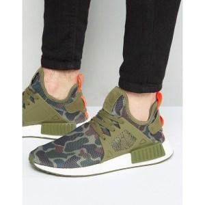 Mit dem Adidas NMD XR1 in camouflage seid ihr immer auf der Sneakerhöhe. Der Herren Trendsneaker der Brand mit den drei Streifen.
