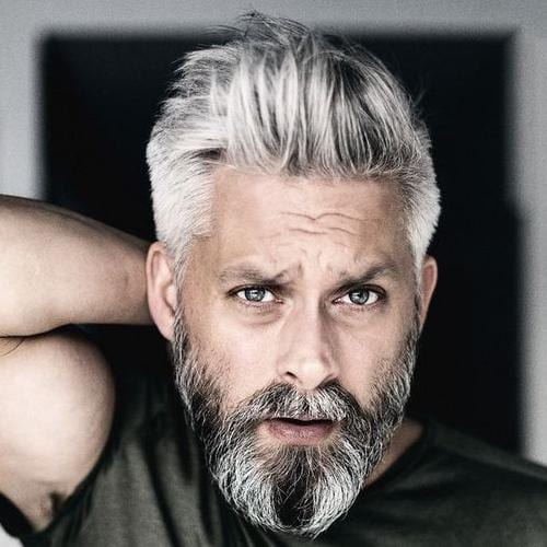 Grey hair in 20s male