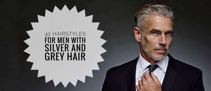 40+ men hairstyles for gray & silver hair - men hairstyles world