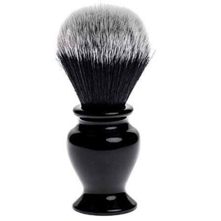 Fendrihan Black and White Synthetic Shaving Brush