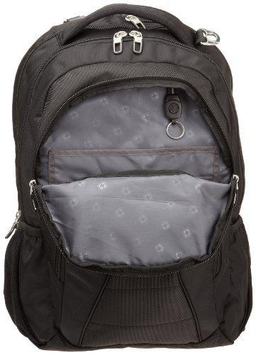 Swiss Gear Black TSA Friendly ScanSmart Laptop Backpack