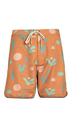Mollusk Men's Scallop Swim Trunks