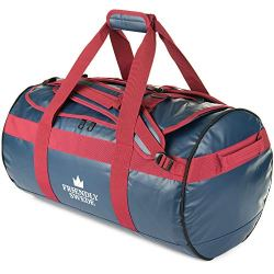 The Friendly Swede Duffel bag with Backpack Straps