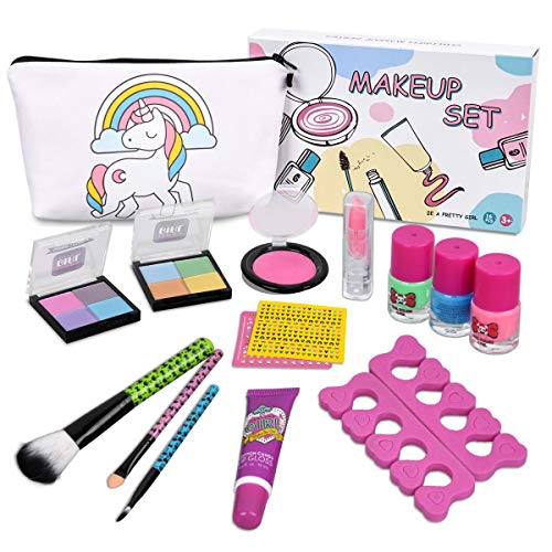 LOYO Kids Makeup Kit for Girls