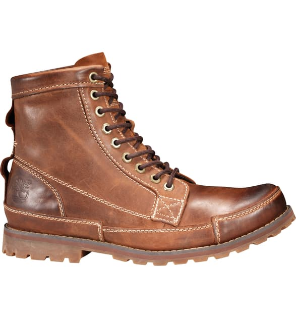 Timberland Earthkeepers Original Mid Plain Toe Boot