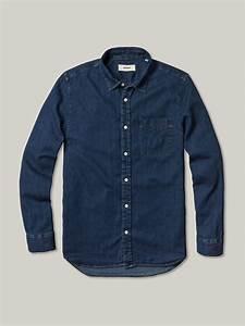 Buck Mason Denim Vintage One Pocket Shirt