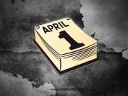 aprilska laz