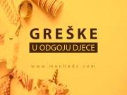 greske u odgoju djece
