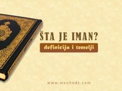 šta je iman, definicija imana, ruknovi imana