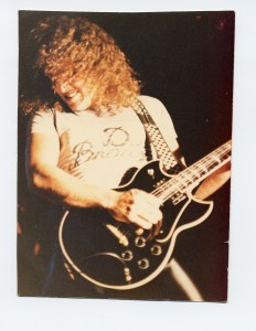 photo of Dave Meniketti 1982
