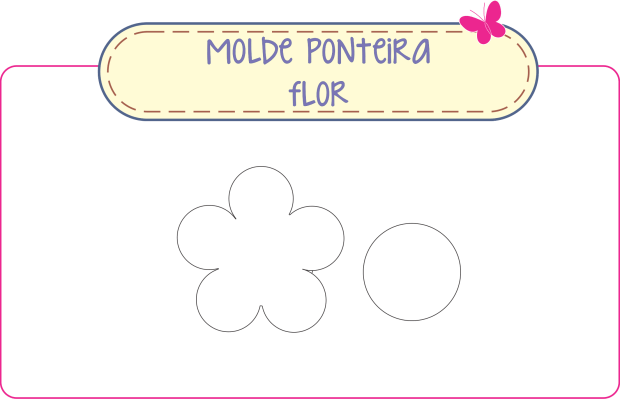 molde flor