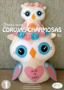 Capa Corujas Charmosas