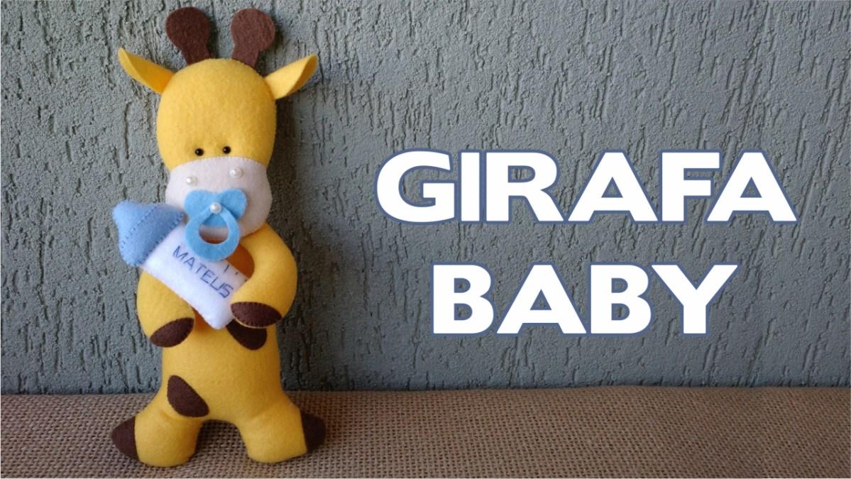 Girafa Baby Passo a Passo
