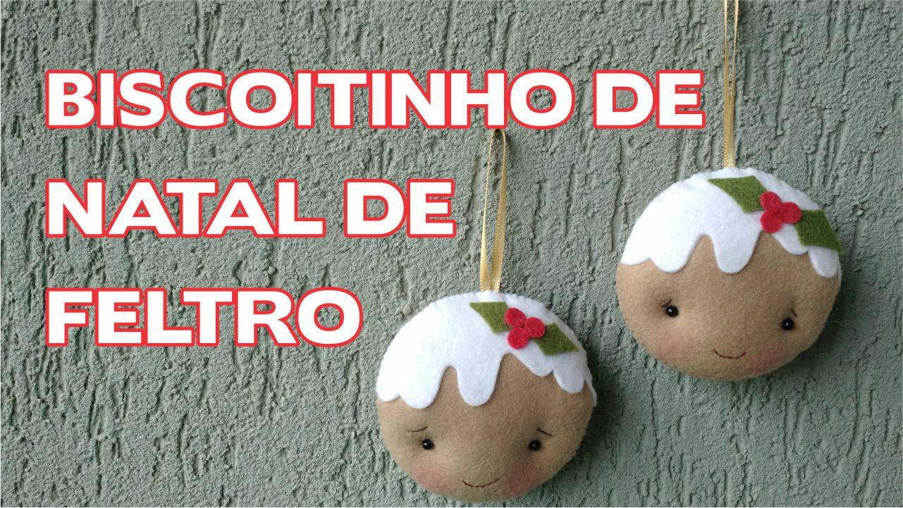 Artesanato Tecido Franzido ~ Enfeites de Natal u2013 Biscoitinho em Feltro u2013 Passo a Passo u2013 Menina Arteira By Eli