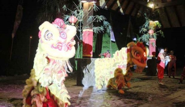 Lion Dance. Foto by turi beach resort.
