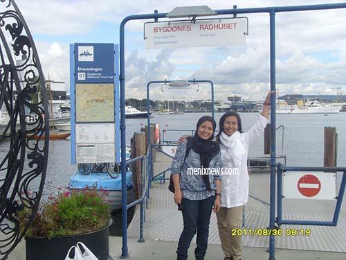 Di Pelabuhan Oslo.