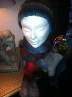 Mütze aus Noro Kureyon Fb 217, Schal aus Noro Silk Garden lite Fb 2014