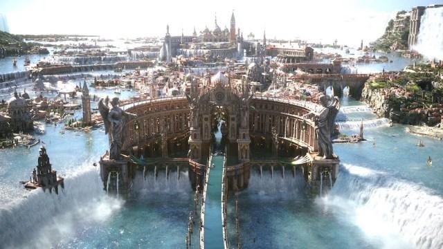 FFXV的世界在原創之餘亦參考現實世界的景物,如此獨特的世界觀及夢幻般的美術,是絕無可能在歐美遊戲中找到。