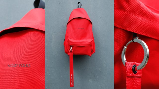 全新紅色注目度最高,一塊尼龍製成整個袋身、一體化設計全部保留,令背包能呈現最完美外形。各$449(SMT-22)及$499(SMT-28)